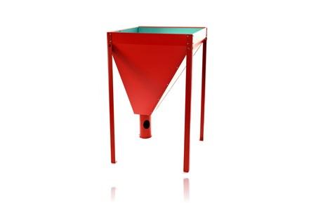 pelletsbeh lter pelletssilo silo 80x80 f r 220kg pellets. Black Bedroom Furniture Sets. Home Design Ideas